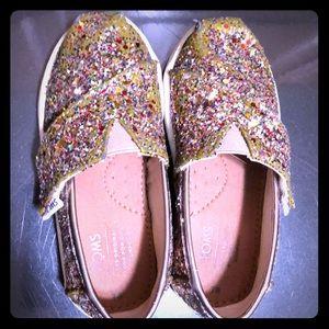 Multicolor sparkle TOMS